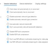 WVD Spring 2020 #49 Azure Portal から RDP 設定が詳細に出来るようになった