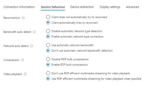 Windows Virtual Desktop #49 Azure Portal から RDP 設定が詳細に出来るようになった