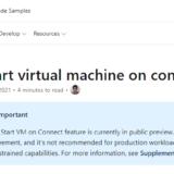 WVD Spring 2020 #76 Start VM on Connect が利用可能へ