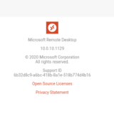 WVD Spring 2020 #78 Android Client Version 10.0.10